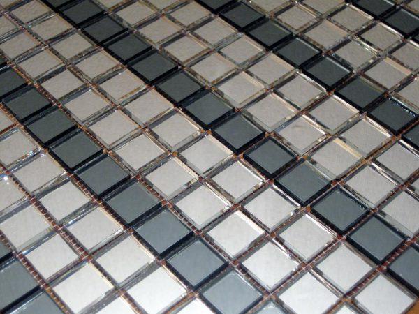 мозаика серебро + графит V/SD20-4