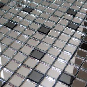 мозаика серебро графит V/SM42-2