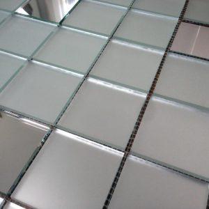 мозаика серебро и матовое серебро V/МS50