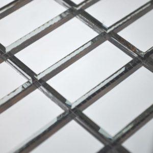 мозаика серебряное зеркало V/S42