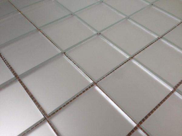 мозаика серебро матовое V/M50